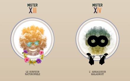 Mister X 3-4
