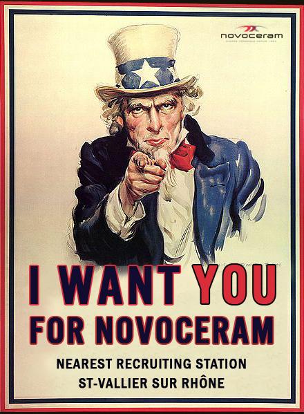 i want you for NOVOCERAM