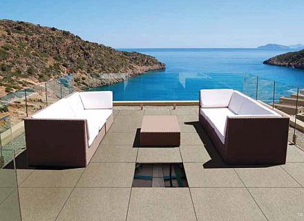 Carrelage terrasse flottant Novoceram Outdoor Plus