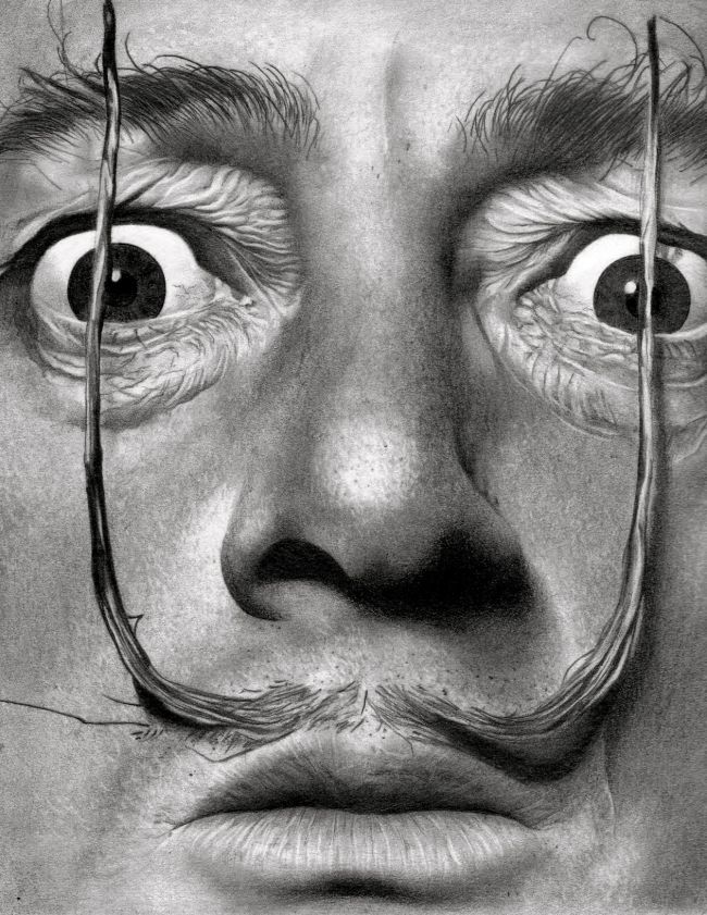 Salvador Dali by Depoi