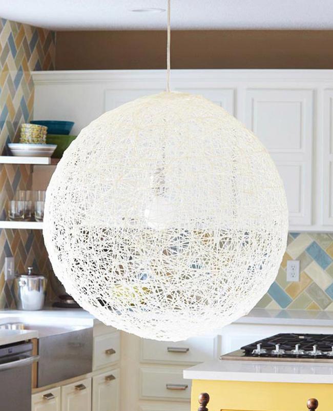 Lamp DIY coton