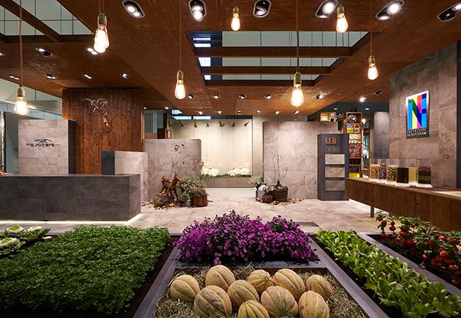 luminaire diy tiles and food novoceram