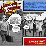 A week-end with ceramic wood