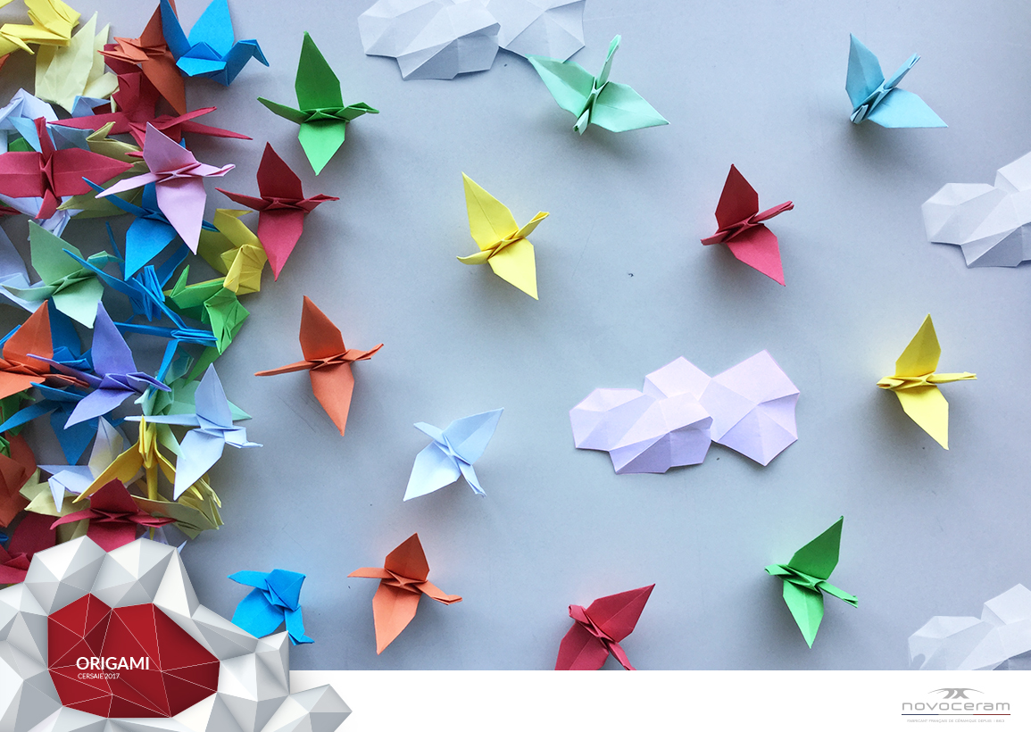 Origami, The Cranes Invasion