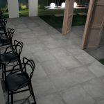Concrete Effect Azimut Collection Novoceram