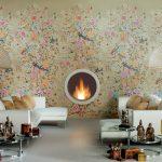 Florilège collection wallpaper effect Novoceram