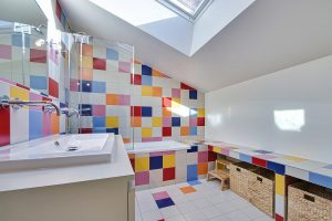 Multi Coloured Tiles