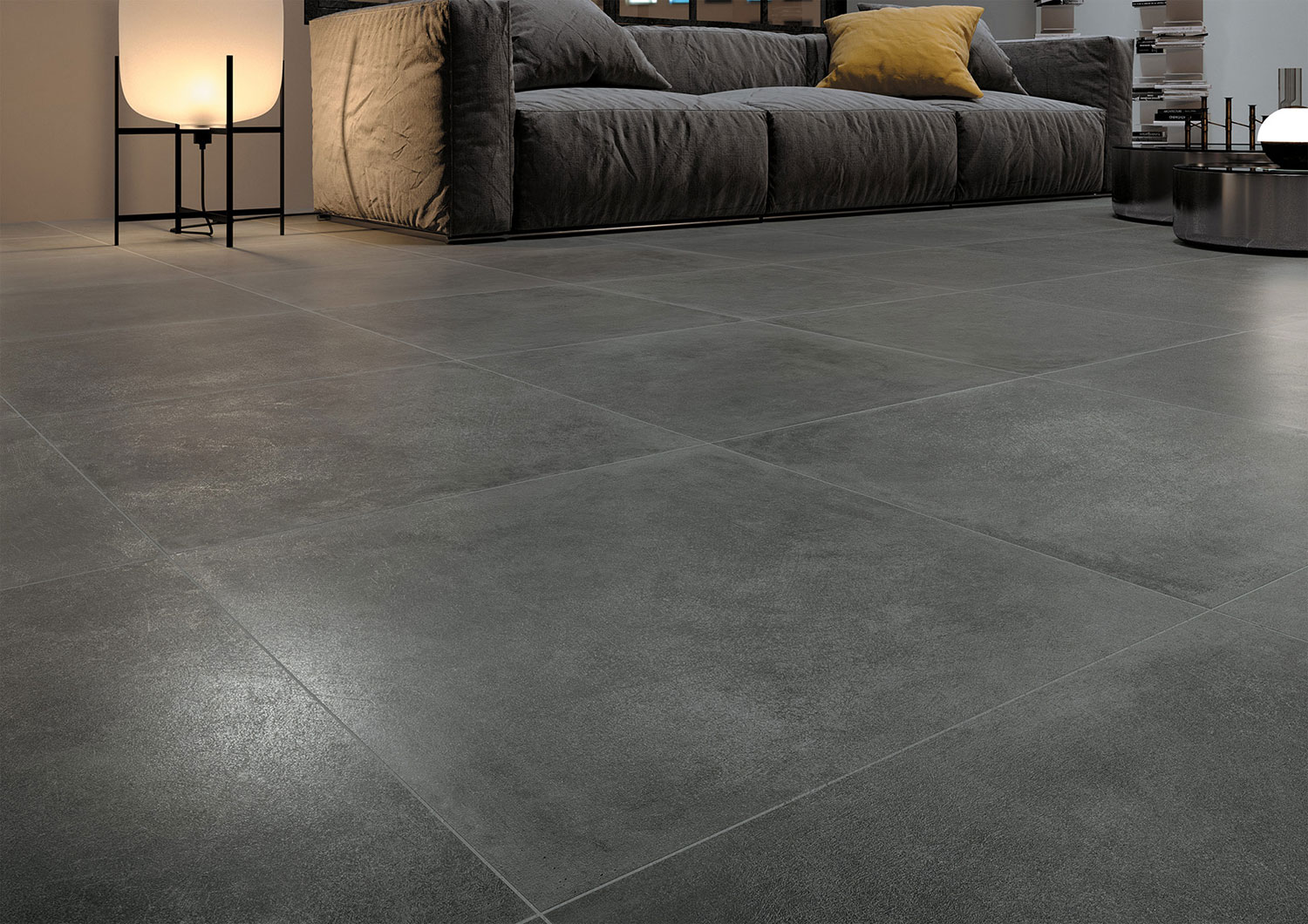 Dark Grey Large Tiles Discover Our