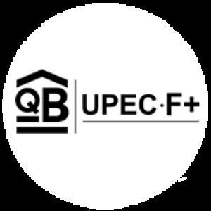UPEC F+ classification of floor tiles