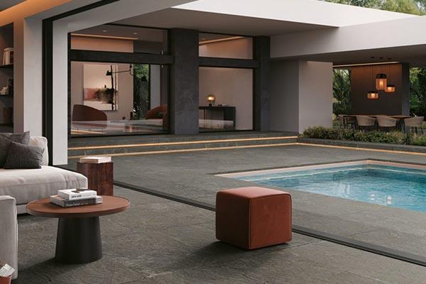 stone look outdoor floor tiles